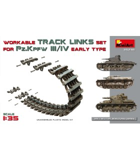 MiniArt Accessories set chains for Pk.KpfW III / IV 1:35 35235