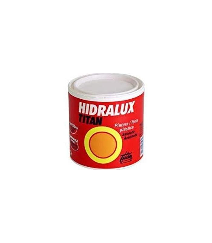 Pintura plástica satinada Hidralux blanca y colores 750ml