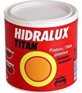 Peinture plastique satinée Hidralux blanc et couleurs 375ml