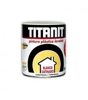 Peinture plastique satinée Titanit 750ml.