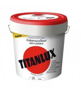Peinture plastique écologique Titanlux blanc 15l