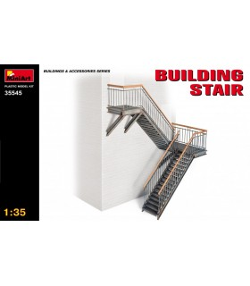 Maqueta MiniArt Accesorio Building Stair. Escala 1/35
