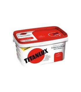 Tinta plástica ecológica Titanlux cores 4L.