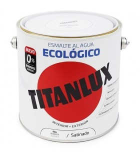 Acabamento acetinado esmaltado Titanlux ecológico 2,5L
