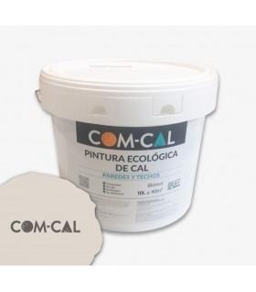 Peinture organique sur la chaux blanche Com-Cal 10l.