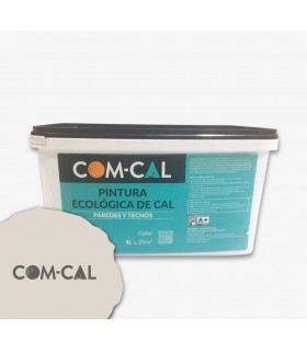 Pittura organica sulla calce bianca Com-Cal 5L