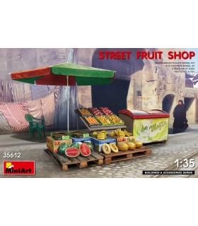 MiniArt Accesorios Street Fruit Shop 1/35 35612