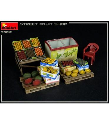 MiniArt Accessories Street Fruit Shop 1/35 35612