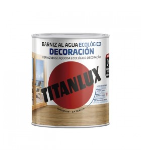 Barniz al agua Ecológico decoración brillante 750ml