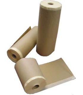 Papier avec du ruban adhésif. Différentes tailles.