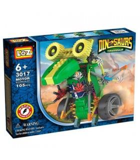 Loz Robot Dinosaur avec moteur 105 pièces