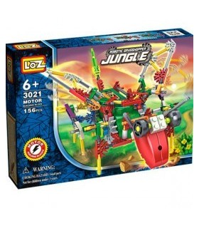Loz Robot Grasshopper avec moteur 156 pièces