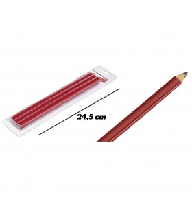 Carpenter pencil set 6 units