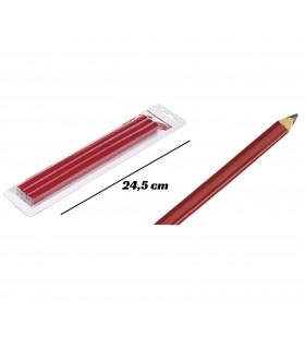Conjunto de lápis carpinteiro 6 unidades
