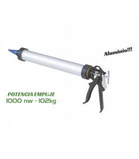 Pistola tubular cartuchos 375mm