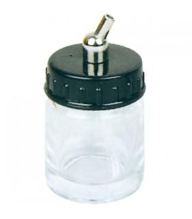 Bottiglia di vetro con sifone 22cc