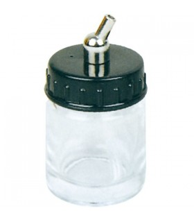 Glass bottle with siphon 22cc