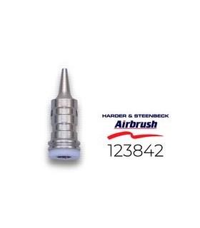 Bico de aerógrafo mais duro & steenbeck 123842 0.6mm