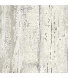 Papel de parede com efeito de madeira L10917