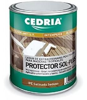 Protetor Cedria Lasur Sol Plus 4L.