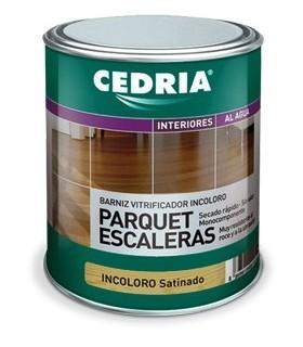 Cedria varnish parquet matte stairs 4L.
