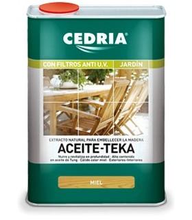Cedria Honey Teak Oil 4L.