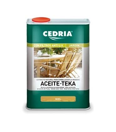 Cedria Aceite de Teka Miel 750ml