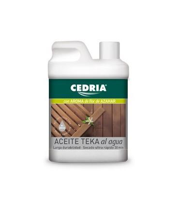 Cedria Aceite Teka Al Agua 500ml.