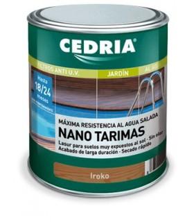 Plataformas antiderrapantes Cedria Nano 4L.