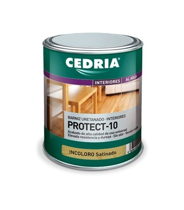 Cedria Barniz Protect 10 mate 4L.