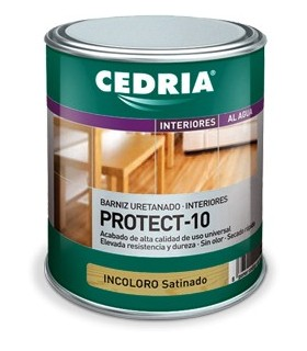 Cedria Barniz Protect 10 Satinado 4L.