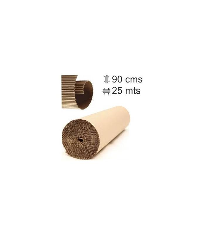 Rolo ondulado de papelão 90Cmx25m