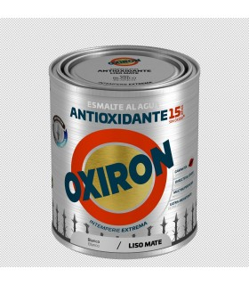 Oxirón liso mate al agua 2.5l.