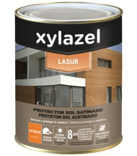 Xylazel Lasur Protector Sol Satinado Incoloro 5L.