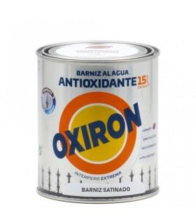 Verniz antiferrugem à base de água Oxirón satinado 750ml