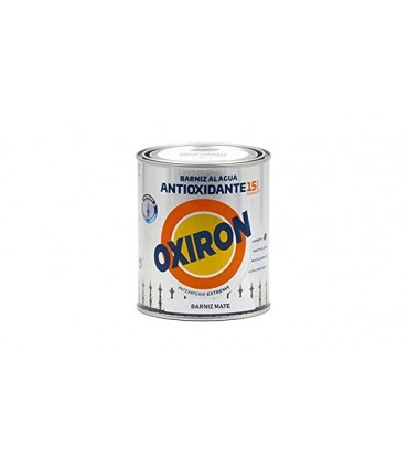 Barniz al agua antioxidante Oxirón Mate 750ml