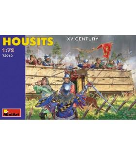 MiniArt Figuras Housits. XV century escala 1/72