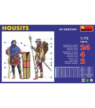 MiniArt Figures Housits. XV century 1/72 scale
