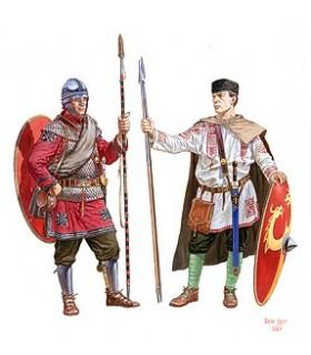 Figuras MiniArt Infantaria romana III- IVc Escala: 1/72