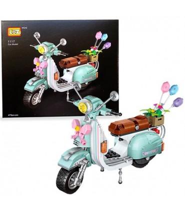 Moto Scooter Loz mini 673 pezzi