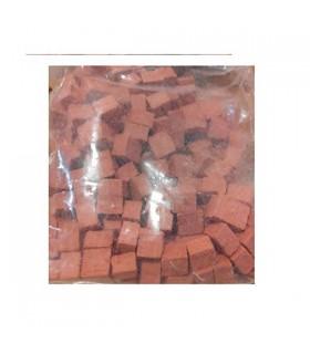 Pedra de mosaico Cuit 4x10 mm vermelho