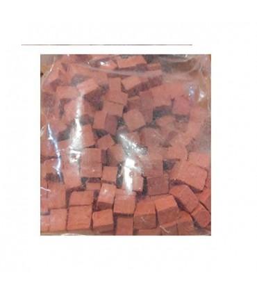 Cuit Piedra mosaico 4x10 mm roja