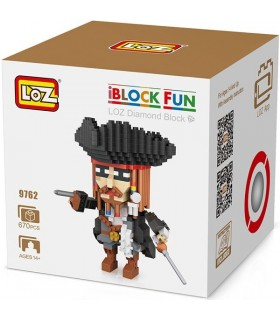 Loz character with 670 pieces
