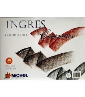 Bloc Ingres Michel 40h. Blanc 90gr. A4