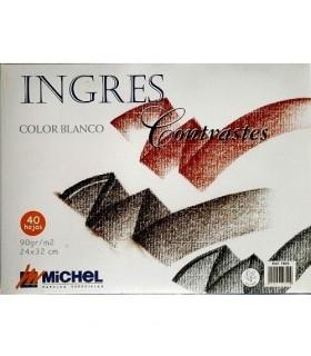 Block Ingres Michel 40h. Weiß 90gr. A4