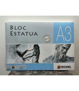 Bloc Papel Verjurado A3 100gr/m2 Michel 9701