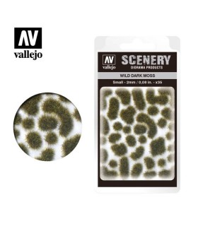 Scenery Wild Dark Moss 2 mm 0,08 in 35u. SC402