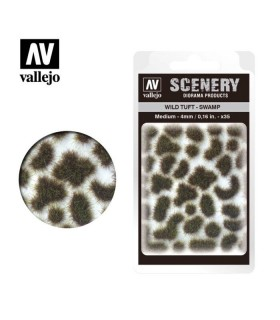 Scenery Wild Tuft Swamp 4mm 0,16 in 35u. SC405