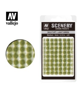 Scenery Wild Tuft Light Green 4mm 0,16 in 35u. SC407