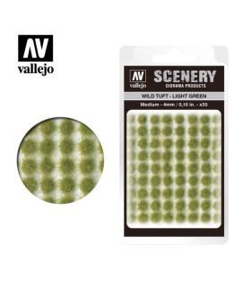 Scenery Wild Tuft Light Green 4mm 0,16 in 35u. SC407